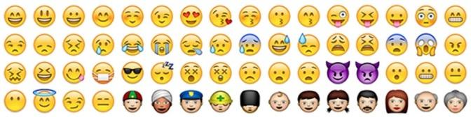 La misericordia col linguaggio delle Emoticon