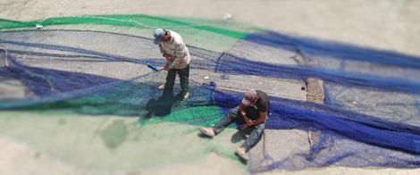 """Essaouira: """"E, fatto così, presero una tal quantità di pesci, che le reti si rompevano"""" (Lc 5,6)."""