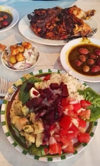 Cena a Casablanca tra colori e sapori